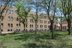 landsvape på det Hokkaido universitetet i Japan Arkivbild