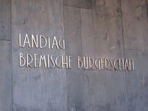 Landtag Von Bremen, Bremische BÃ ¼ rgerschaft fotografia royalty free