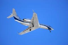 Landung-Flugzeug   Lizenzfreie Stockbilder