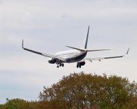 Landungflugzeug Stockfotos