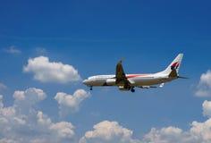 Landungs-Flugzeuge lizenzfreies stockbild