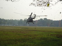 Landungs-Hubschrauber Stockfotografie