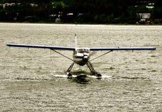 Landungs-Mitte Juneau Floatplane Lizenzfreies Stockbild