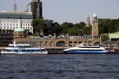 Landungsbrücken Royalty Free Stock Photo