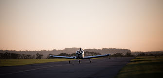 Landungsflugzeug Stockfotos