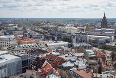 Landview de Riga photo libre de droits