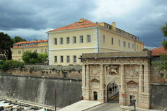 Landward Gate in Zadar Stock Photo