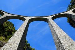 Landwasser-Viadukt in Filisur stockfoto