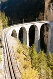 Landwasserviadukt, Switzerland Stock Photography