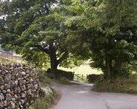 Landweg Stockbild