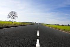 Landweg Royalty-vrije Stock Afbeelding