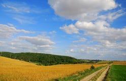 Landweg Royalty-vrije Stock Foto