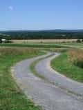 Landweg en Landschap Royalty-vrije Stock Fotografie