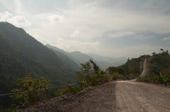 Landweg in Thailand Royalty-vrije Stock Afbeelding