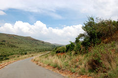 Landweg - Zuid-Afrika Stock Afbeeldingen