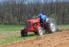 Landwirt bei der Arbeit Lizenzfreie Stockfotografie