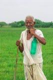 Landwirt India Stockbild