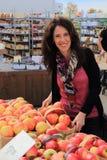Landwirt-Markt-Äpfel Stockbilder