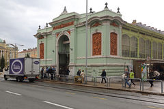 Landwirt-Markt Rijeka Stockfotos