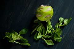 Landwirt ` s Lebensstil mit lokalem Lebensmittel Grüns sind für Gesundheit gut Modernes Lebensmittel des strengen Vegetariers Stockbilder