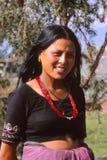 Landwirtdame von Nepal Lizenzfreie Stockfotografie