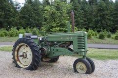 Landwirtschaft den LKW angezeigt im Garten Stockfotografie