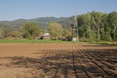 Landwirtschaft in der Landschaft Lizenzfreies Stockfoto