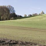Landwirtschaft in der Schweiz Lizenzfreie Stockfotos