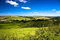 Landwirtschaft in Devon Stockfotos