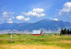 Landwirtschaft im glücklichen Tal Stockfotografie