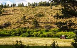 Landwirtschaft im Hochland Stockfotografie