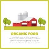 Landwirtschaft und Landwirtschaft agrargeschäft Landwirtschaftliche Landschaft Lizenzfreie Stockfotografie