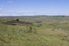 Landwirtschaft von Landschaft Lizenzfreies Stockfoto