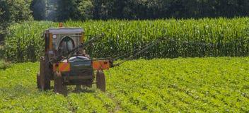 Landwirtschaftliche Arbeitskräfte stockbild