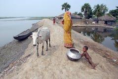Landwirtschaftliche Armut lizenzfreie stockfotografie