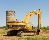 Landwirtschaftliche Ausrüstung in Süd-Ontario Lizenzfreies Stockfoto