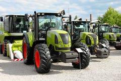 Landwirtschaftliche Ausrüstung auf Anzeige Lizenzfreie Stockfotografie