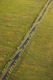 Landwirtschaftliche Datenbahn. stockfotografie