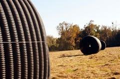 Landwirtschaftliche Fliese Rolls stockbild