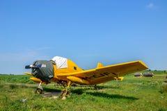 Landwirtschaftliche Flugzeuge lizenzfreies stockbild