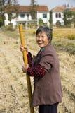 Landwirtschaftliche Frauen glücklich Stockbild