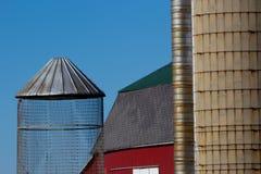Landwirtschaftliche Gebäude Stockbild