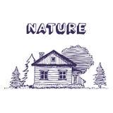 Landwirtschaftliche Hütte Lizenzfreie Stockbilder