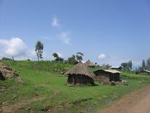 Landwirtschaftliche Hütten Stockbild