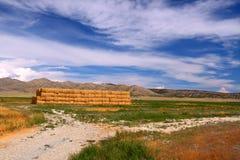 Landwirtschaftliche Idaho-Landschaft Lizenzfreies Stockfoto