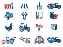 Landwirtschaftliche Ikone Stockbild
