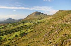 Landwirtschaftliche Irland-Landschaft stockfotografie