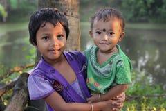 Landwirtschaftliche Kinder Stockfoto