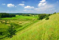 Landwirtschaftliche Landschaft. Lizenzfreie Stockfotografie