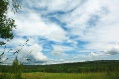 Landwirtschaftliche Landschaft Stockfoto